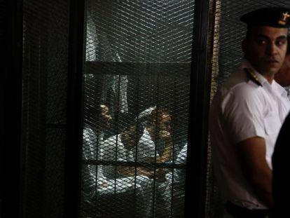 Presos en la prisión de Tora, en El Cairo, en septiembre de 2018.