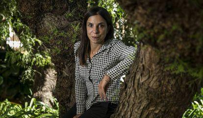 La escritora Antonella Lattazi, en septiembre en Barcelona.