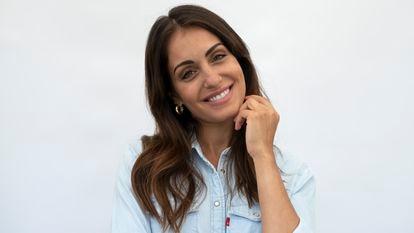 La actriz Hiba Abouk, en Madrid.