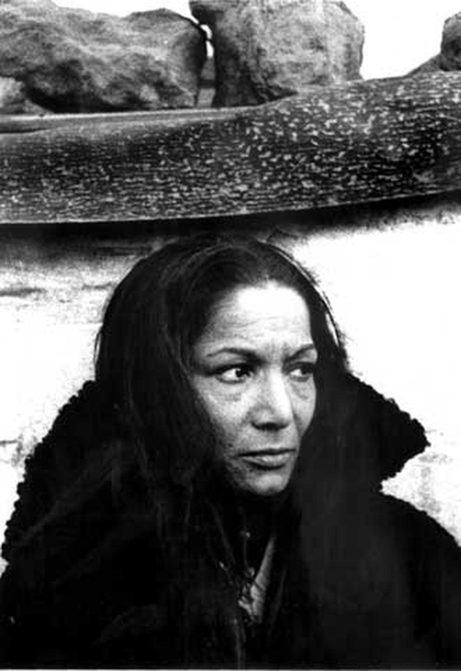 Carmen Amaya retratada en 1963 por Colita.