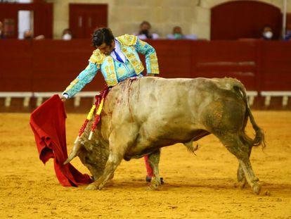 Morante de la Puebla, este sábado con seis toros en El Puerto de Santa María, Cádiz.