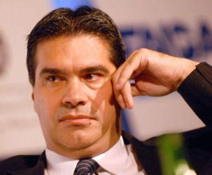 Jorge Capitanich, jefe de Gabinete argentino.
