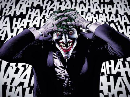 Viñeta del cómic 'La broma asesina'.