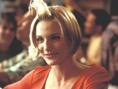 La actriz Cameron Díaz, en un fotograma de la película 'Algo pasa con Mary' (1998).