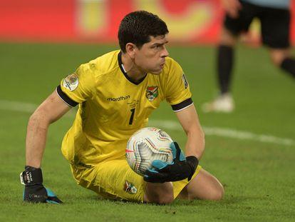 Carlos Lampe, el pasado 24 de junio durante la victoria de Uruguay ante Bolivia (2-0) en la Copa América.