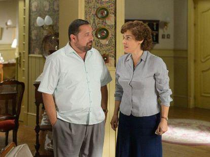 Pepón Nieto y Anabel Alonso, dos de las nuevas incorporaciones al reparto.