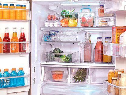 Maximiza el espacio en tu refrigerador