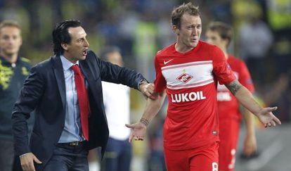 Emery dirge al Spartak.