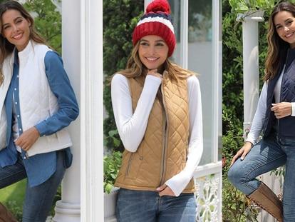 Esta prenda para mujer es ideal para cubrirse tanto en la época de frío como en días en los que baja un poco la temperatura