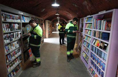 Biblioteca de libros abandonados en Ankara
