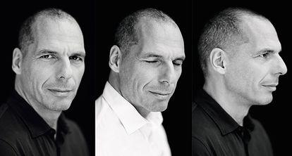Varoufakis, fotografiado en su casa de Atenas para el número de enero de ICON.