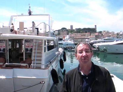 Carlos Boyero, crítico de Cine de EL PAÍS, y Borja Hermoso (que graba con su móvil), comentan cada día el Festival de Cannes.