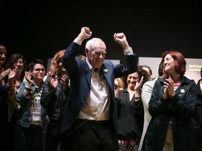 Ernest Maragall, candidato de ERC a la alcaldía de Barcelona.
