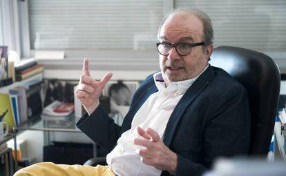 Manuel Borrás, entrevistado en su despacho.