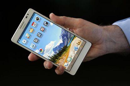 El Ascend Mate de Huawei.