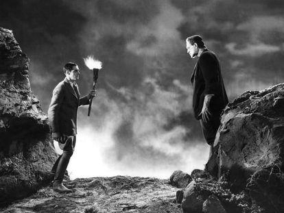 Fotograma de 'Frankenstein', de James Whale (1931).