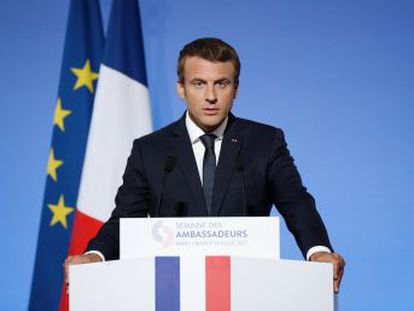 El presidente francés endurece el tono ante la crisis venezolana
