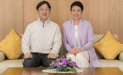 El príncipe Naruhito y la princesa Masako, el pasado febrero.