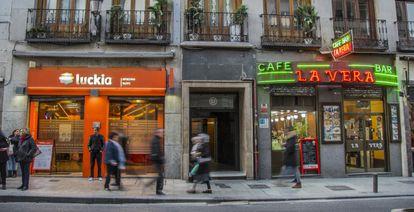 Una casa de apuestas en Madrid.