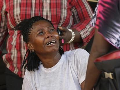 Mujer víctima de violencia de género en Sierra Leona / Salone Monitor