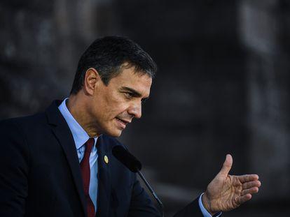 El presidente del Gobierno, Pedro Sánchez, el pasado 10 de octubre.