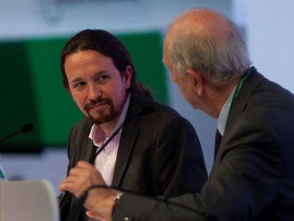 Pablo Iglesias en el Círculo de Economía de Sitges. En vídeo, Ramón Espinar carga contra el secretario general de Podemos.