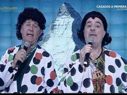 Martes y Tres en el programa El Hormiguero de Antena 3