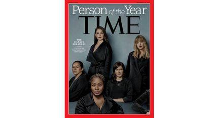 Portada de la revista 'Time' al movimiento de las mujeres contra el acoso sexual.