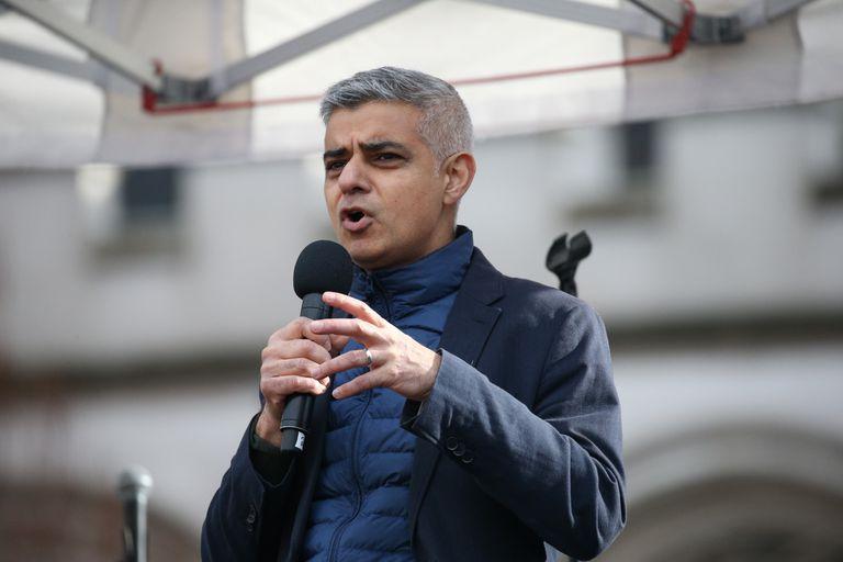 El alcalde de Londres, Sadiq Khan, el pasado 8 de marzo en Londres.