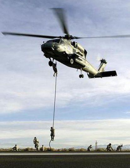 Un entrenamiento de los NAVY Seals.