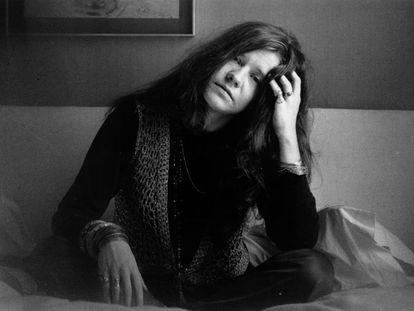 Janis Joplin en Londres, en 1969.