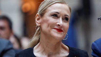 Cristina Cifuentes en una foto de archivo.