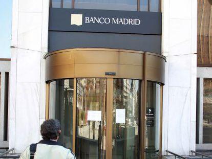 Sede de Banco Madrid.