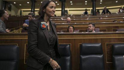 Reyes Maroto, este martes en el Congreso.