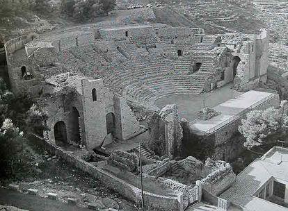 El recinto tras las decenas de restauraciones ejecutadas en los años setenta.