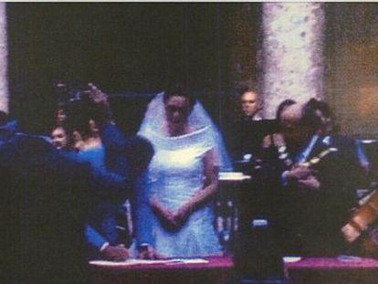 Imagen de la celebración del hijo de Audrey Hepburn en la Alhambra.