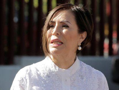 La exministra de Peña Nieto, Rosario Robles, el pasado jueves.