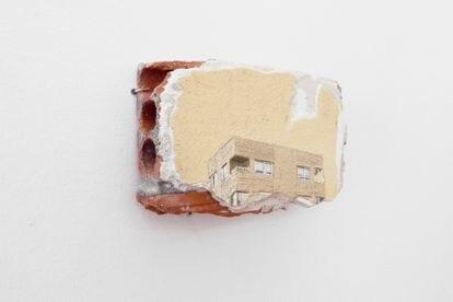 'Escombro', del artista Ignacio Pérez Jofre, una obra que es parte de  la feria madrileña Urvanity.