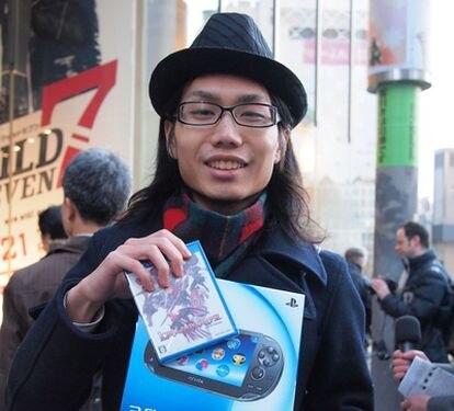Vita, la nueva consola de Sony, sale a la venta en Japón.