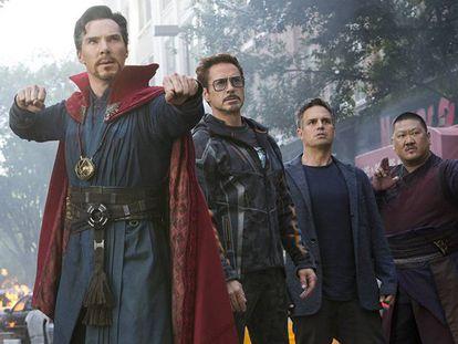 Fotograma de 'Avengers: Infinity War'. En vídeo: Tráiler de la película.
