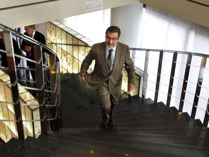 Antonio Asunción, exministro socialista, en 2010 cuando cuestionó la limpieza del proceso de primarias del PSPV-PSOE