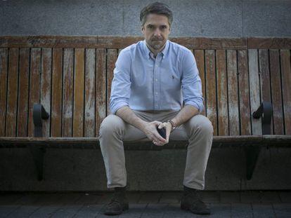 El periodista Carlos Franganillo, la semana pasada en Madrid