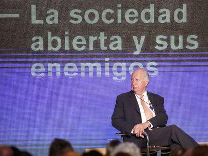 El expresidente de Chile Ricardo Lagos el jueves pasado en un encuentro político-empresarial en Buenos Aires.