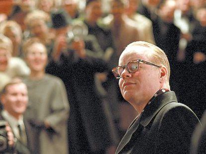 El actor Philip Seymour Hoffman en un fotograma de 'Truman Capote'.