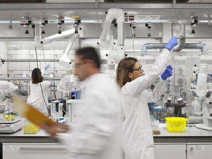 Investigadores del Centro Nacional de Investigaciones Oncológicas.