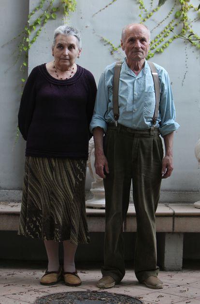 Antonio López y su esposa, la artista María Moreno. © Uly Martín