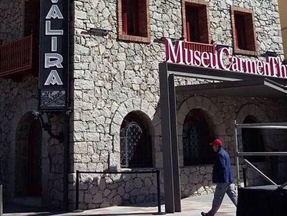Fachada del museo Thyssen en Andorra la Vella.