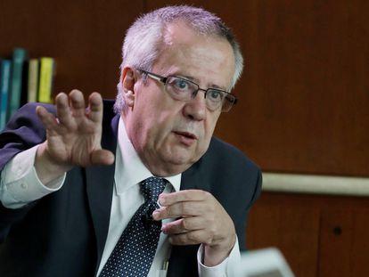El exsecretario de Hacienda de México Carlos Urzúa en una imagen de 2018.