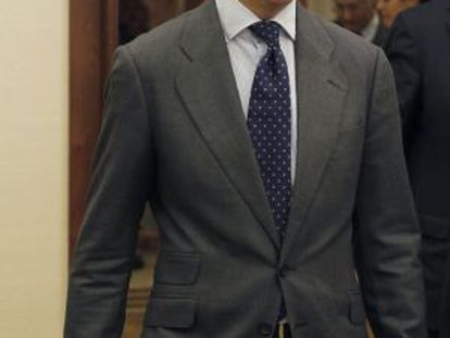 El secretario de Estado de Hacienda, Miguel Ferre
