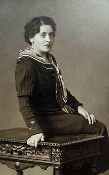 Aurelia Grimaldos, primera esposa de Arturo Barea.